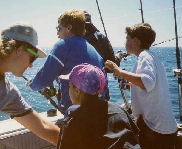 In loving memory of bryan r burch photo album baby for Lake bryan fishing